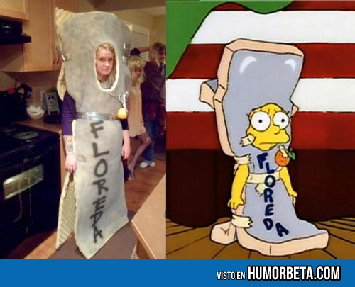 Cosplay de Los simpsons