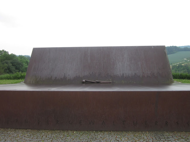 German Monument, Mauthausen Concentration Camp, Vienna / SouvenirChronicles.blogspot.com