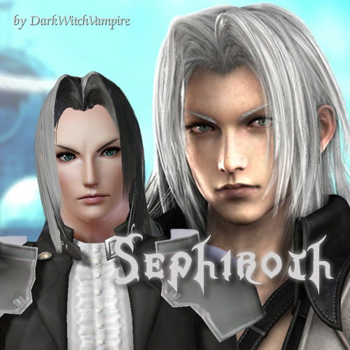 final fantasy vii male sims posted by darkwitchvampire at 7 23 pm