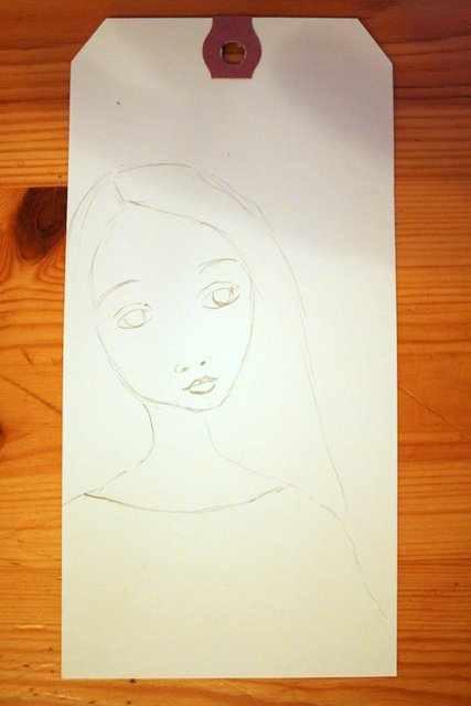 Mixed Media Montag | Geschenk-Tags Mädchen nach Suzi Blu |Anleitung von Britta Häusler