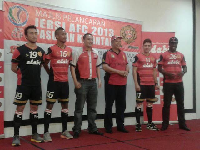 GAMBAR) Jersi Kelantan FA Untuk Piala AFC 2013