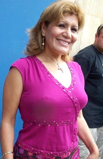 Alicia Delgado con linda sonrisa