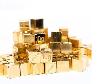 Cubitos de oro de Bitgold