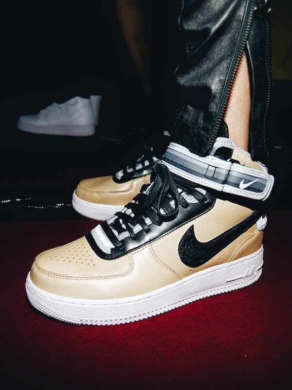 Nike x Riccardo Tisci Air Force 1 Beige Collection Launch October 2014