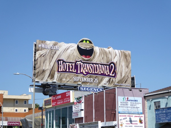 Hotel Transylvania 2 special billboard