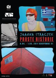 Plakat z mojej wystawy w MGS w Zakopanem