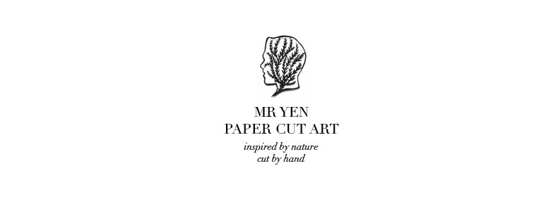 Mr Yen - Paper Cut Art