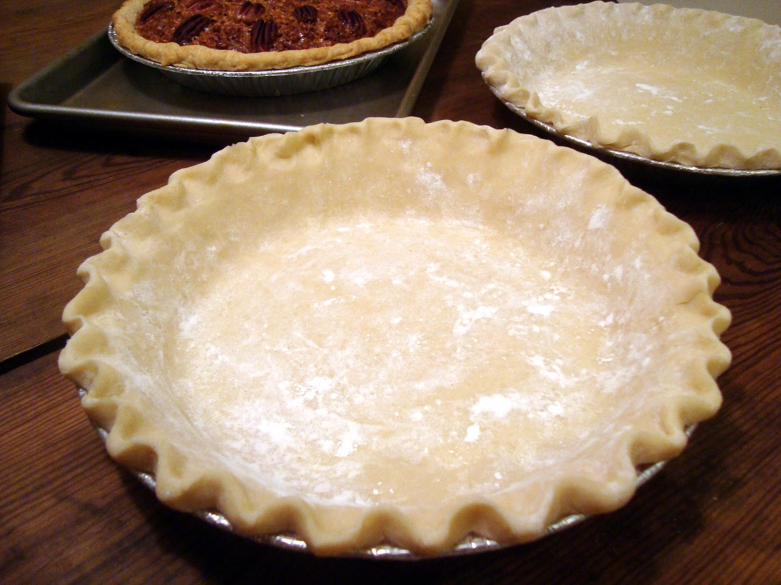 Headspace: Freezing Pie Crusts