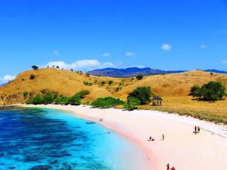 Pink Beach Komodo NTT Flores