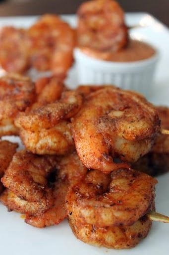 Scrumpdillyicious: Louisiana Cajun Shrimp with Chipotle ...