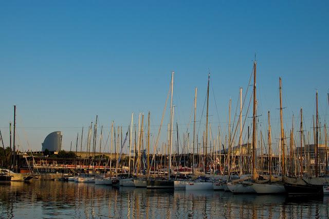 boats barcelona port