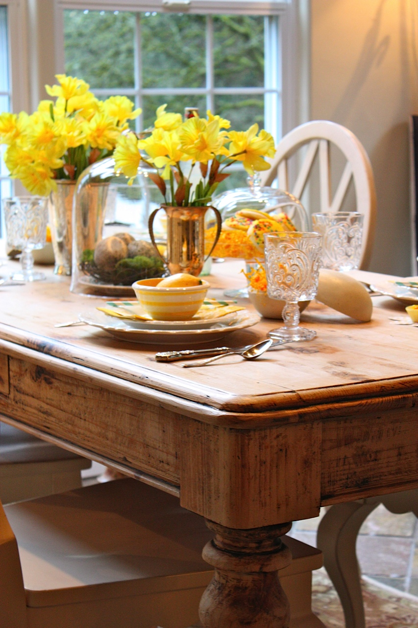 ~a spring table setting~ & My Sweet Savannah: ~a spring table setting~