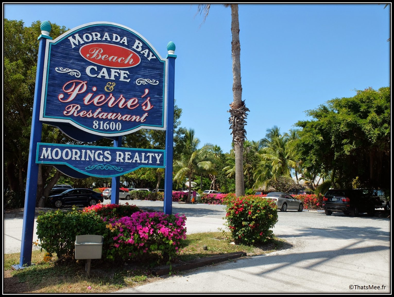 Morada Bay Café Islamorada The Keys Florida