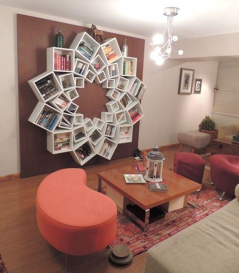 IKEA Boxen in einer Bücherregal-Rosette zum Selbermachen