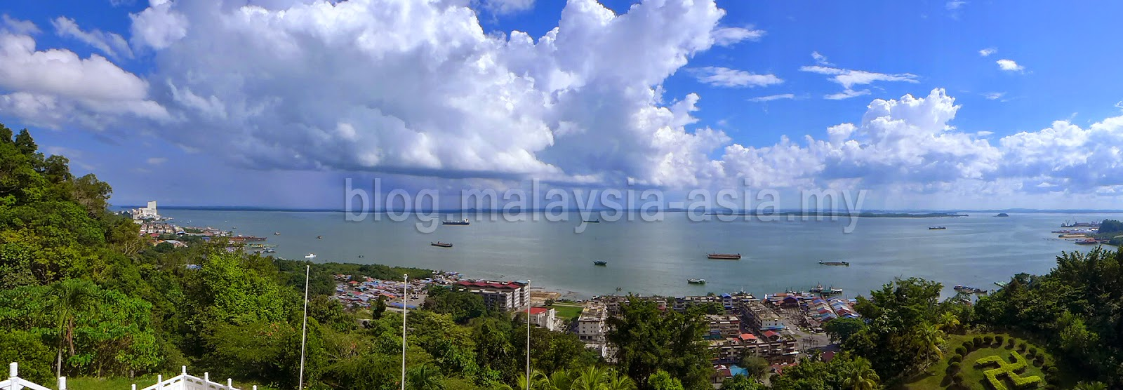 Sandakan City Panoramic Photo