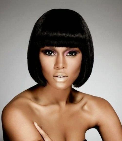 Stylish Black Hairstyles Bobs 2015