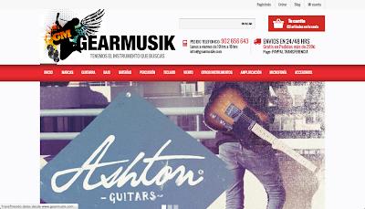 Gearmusik, tu tienda de instrumentos musicales www,directoriopax.com
