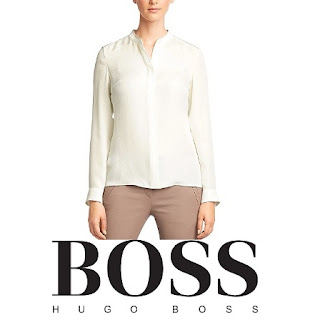 BOSS Silk Bajula Blouse