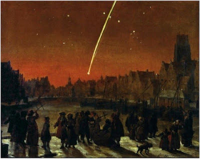 Many hope for a similar appearance of the Great Comet of 1680!