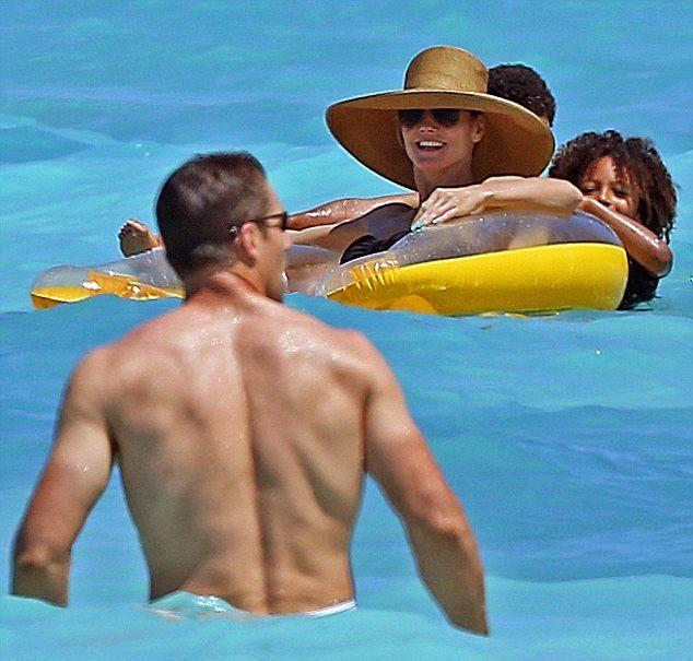 Heidi Klum reveals amazing Bikini style as she enjoys her family vacation in the Bahamas