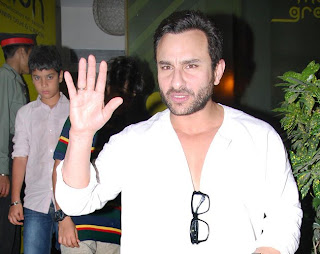 Saif Ali Khan spotted with sons