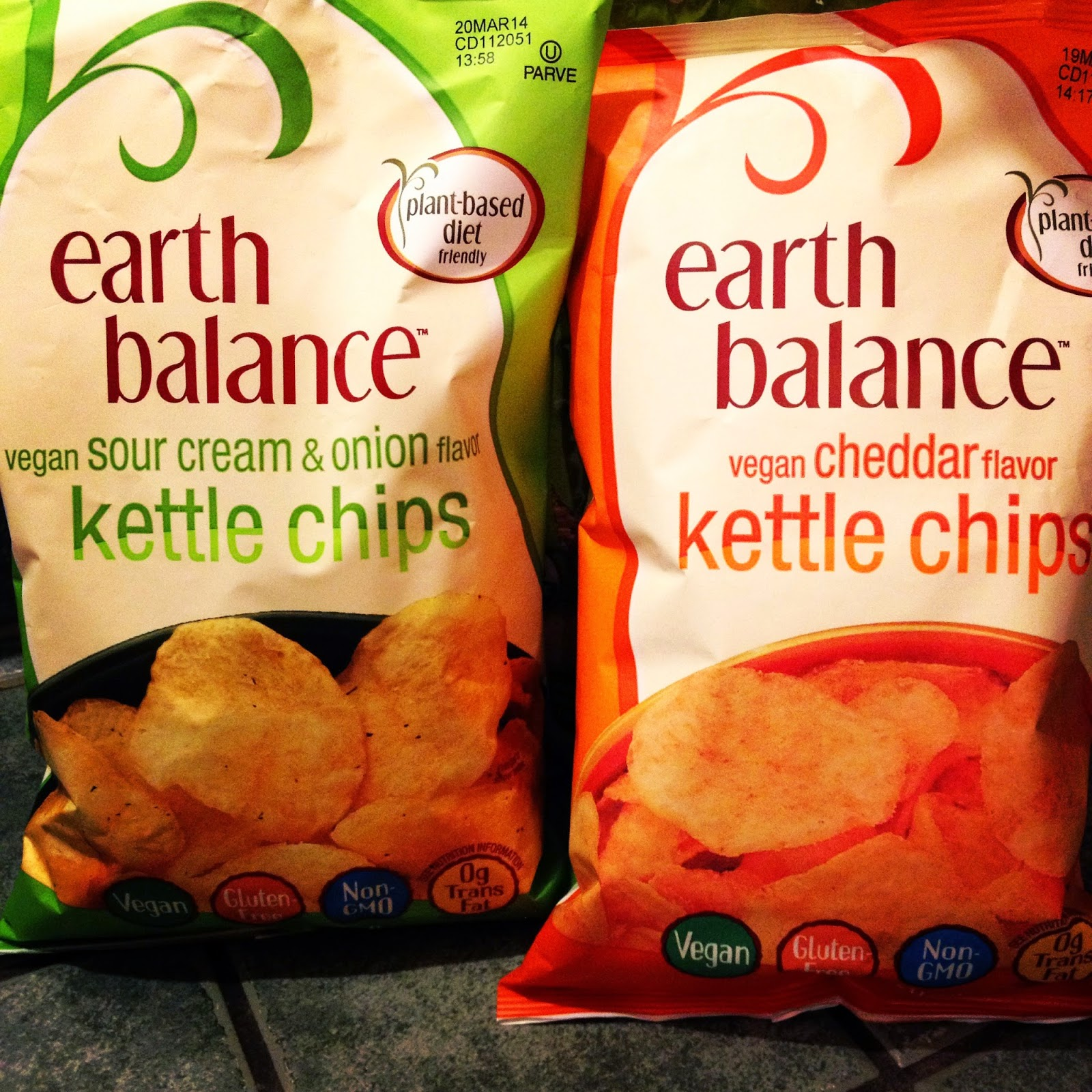 Plant-based Vegan Gluten-Free Sour Cream and Onion and Cheddar Kettle Chips