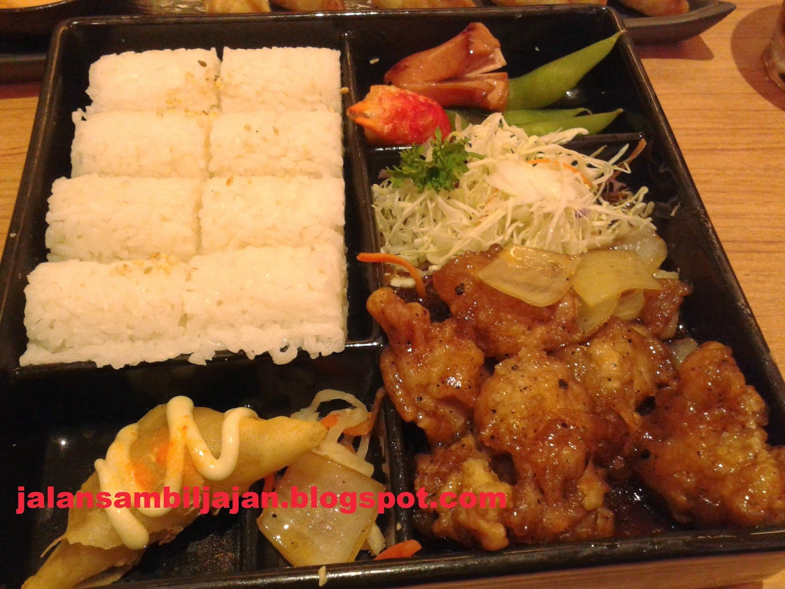 Chicken Blackpepper Bento Bentoya