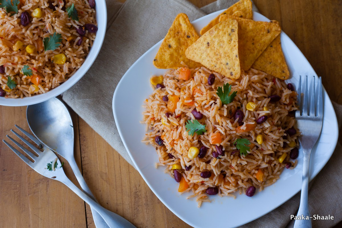 Mexican Rice With Salsa Recipe: