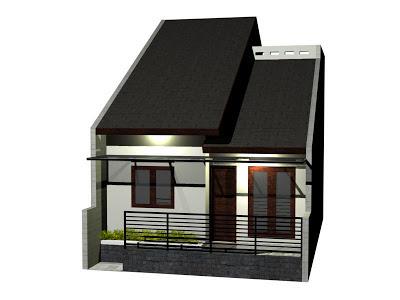 Ini menjadi alternatif ketika kita tidak memiliki lahan yang luas Inilah Desain Rumah Kecil Modern