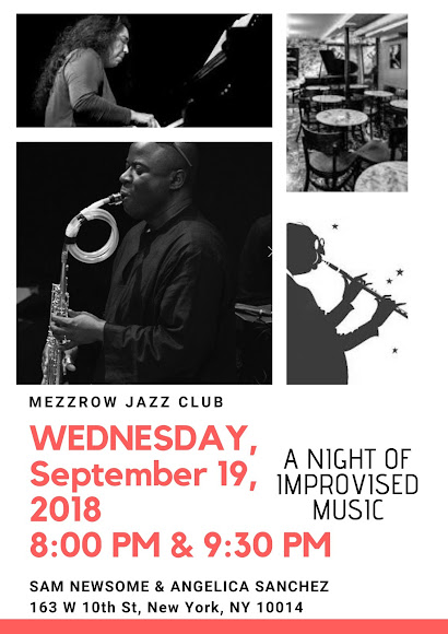 Wednesday, September 19, 2018 - ONE NIGHT ONLY!