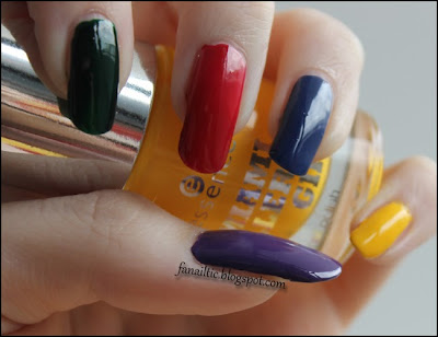 "skittle nails feat. p2 ""midnight vamp"" ☆ catrice ""hugo moss"" ☆ catrice ""madame butterfly"" (LE) ☆ p2 ""ocean lady"" ☆ essence ""bienvenido a miami"" (LE)"