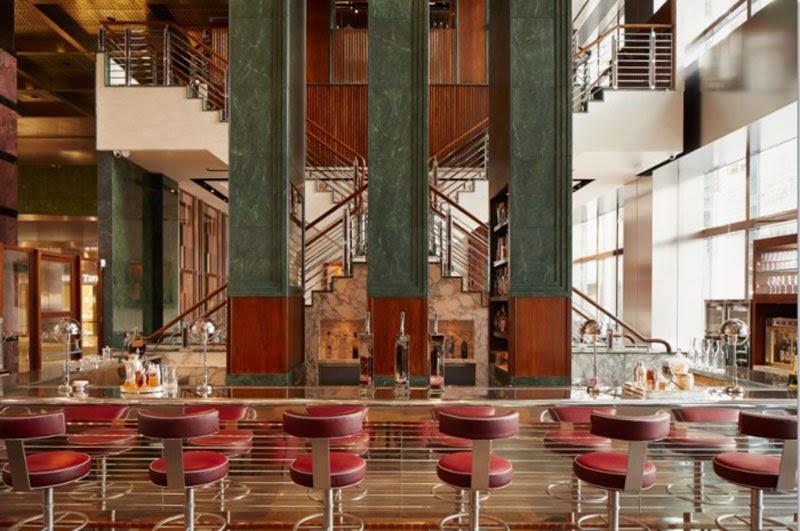 mejores diseños de interiores de bares y restaurantes del mundo, One Canada Square