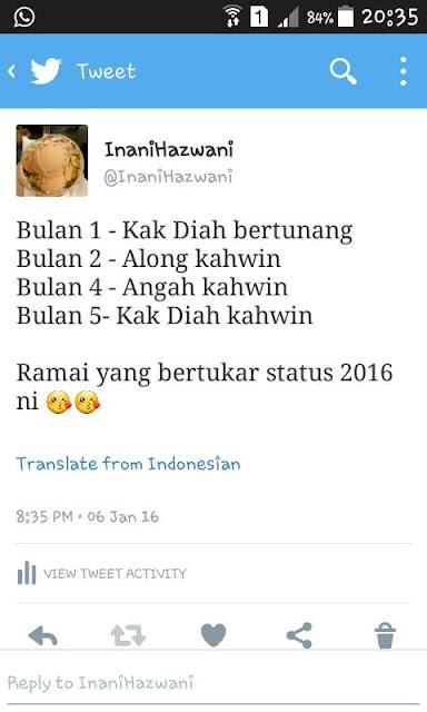 Twitter Inani Hazwani