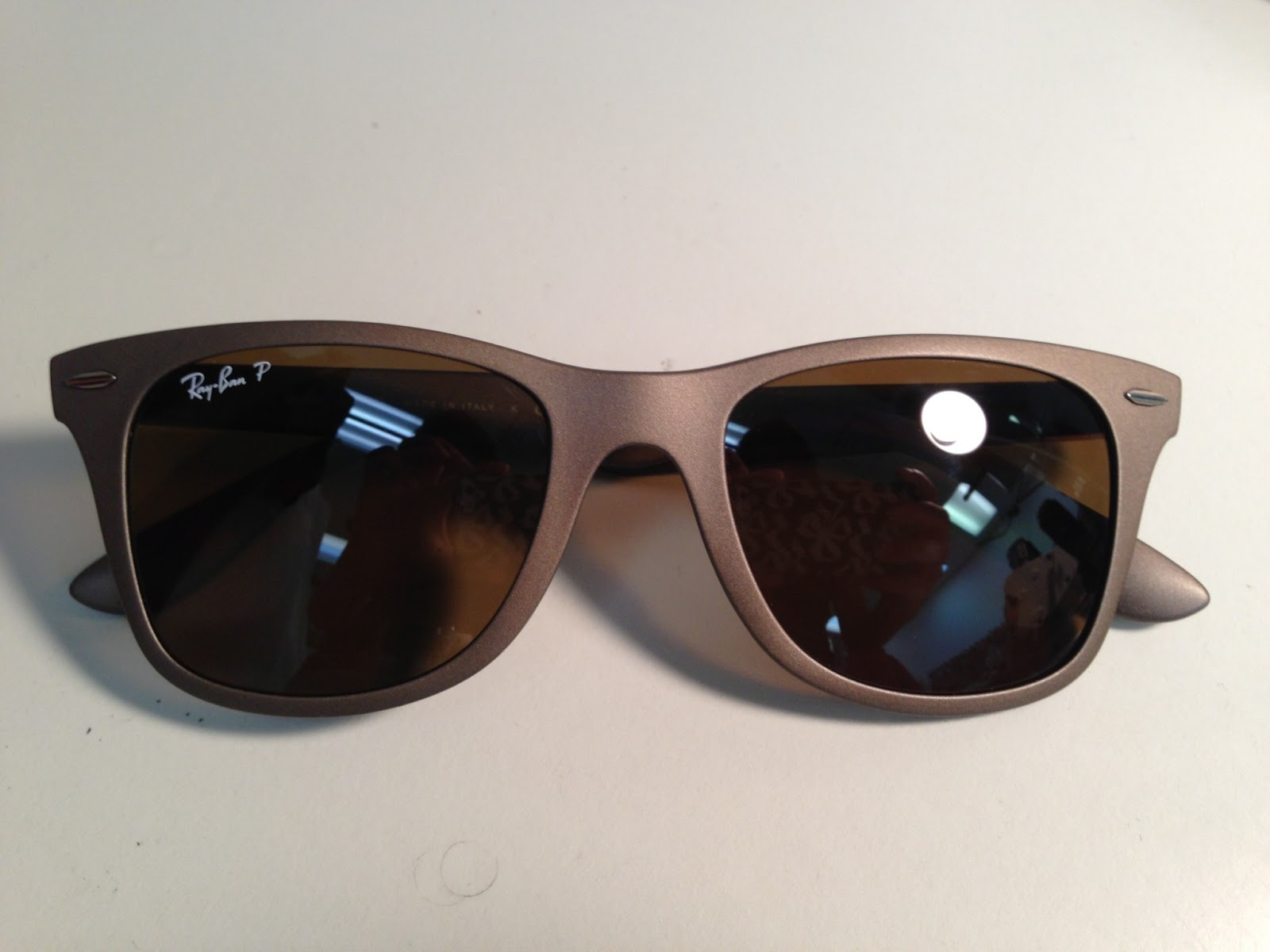 ray ban new wayfarer review b06c  If you're that clumsy and easy forgetting things like me, Ray-Ban Liteforce  Wayfarer are the perfect solution for you girls! I've recently got these  pairs