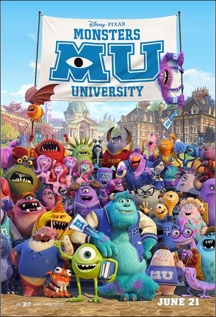 Disney Pixar's Monsters University Review