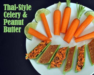 Thai-Style Celery & Peanut Butter