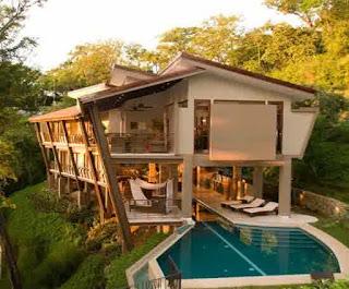 Contoh Desain Rumah Artistik di Bukit Terlaris 2015
