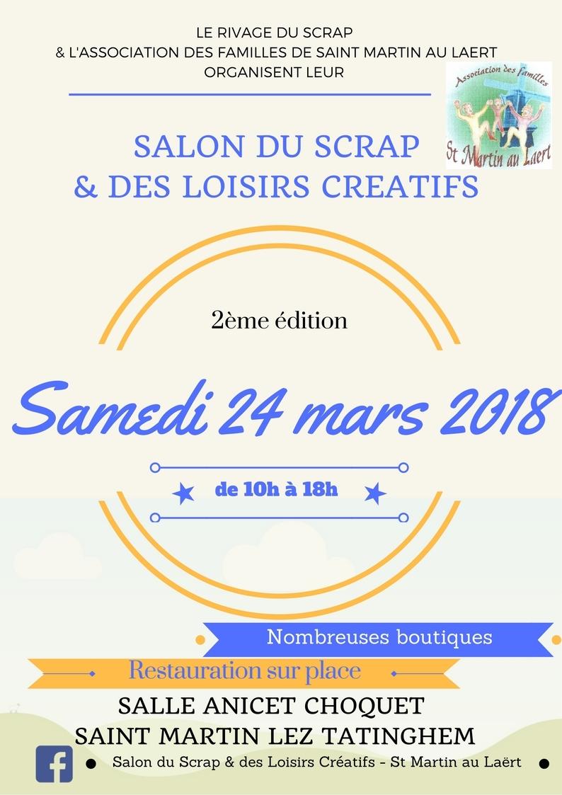 Salon du Scrap à Saint Martin au Laërt