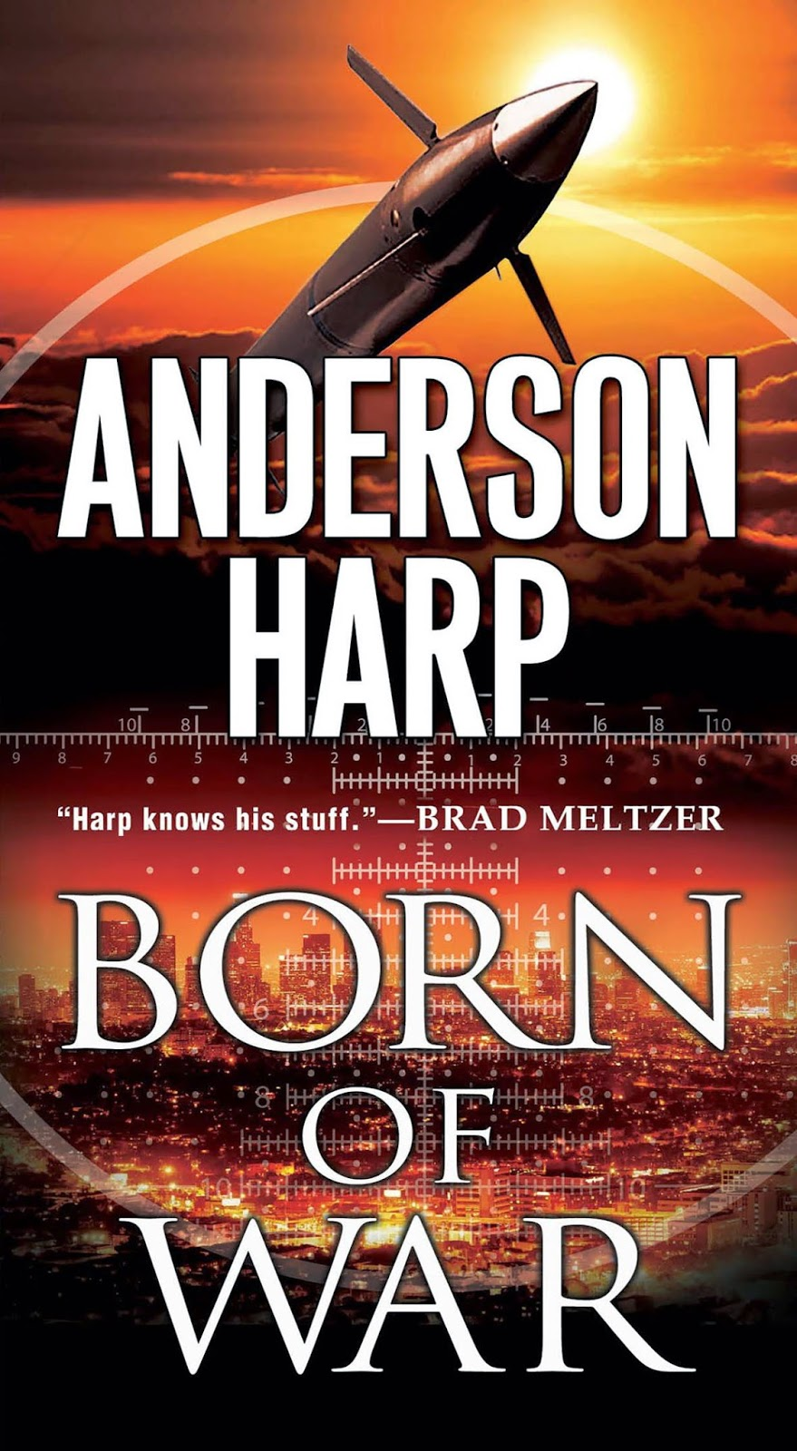 Anderson Harp Is The Author Of The Thrillers Retribution, Born Of War  (kensington) And A Northern Thunder (bancroft) He Served In The Marines,  Taught Artic