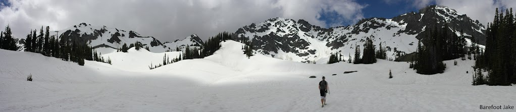Upper Royal Basin snow