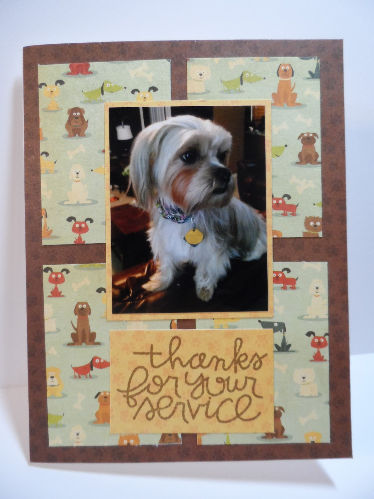 Cards By Brenda Nsd Vcmp Challenge 6 Any Hero Card Using A Photo