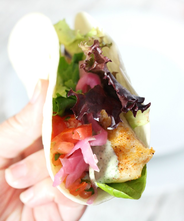 Restaurant Style Fish Tacos