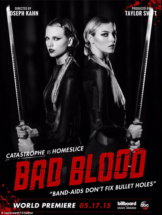 Taylor Swift vs Martha Hunt 'Bad Blood'