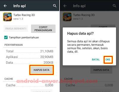 Cara Reset Games Android Tanpa Root Tanpa Alikasi