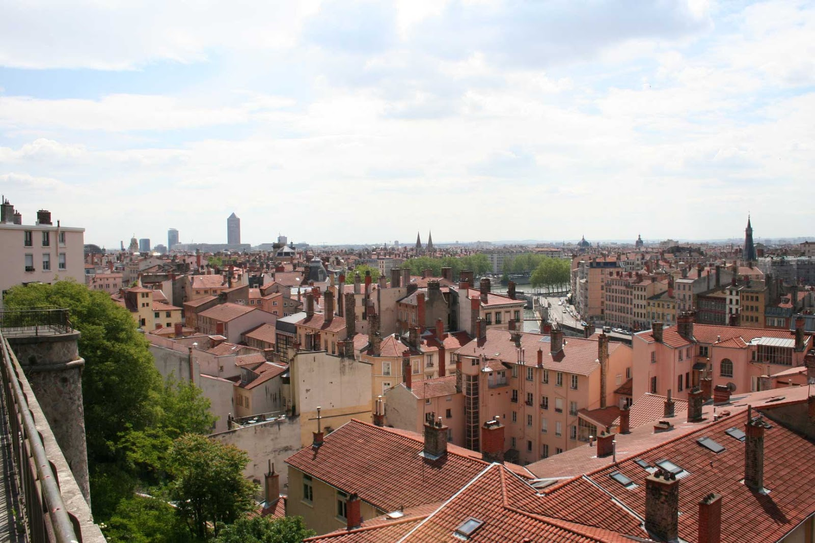 place Rouville vue panoramique - visite guidée de Lyon - Nicolas Bruno Jacquet