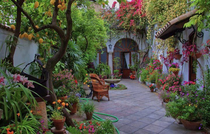 Mil ideas para la casa y el jardin jardin y patio hermoso for Ideas de patios y jardines