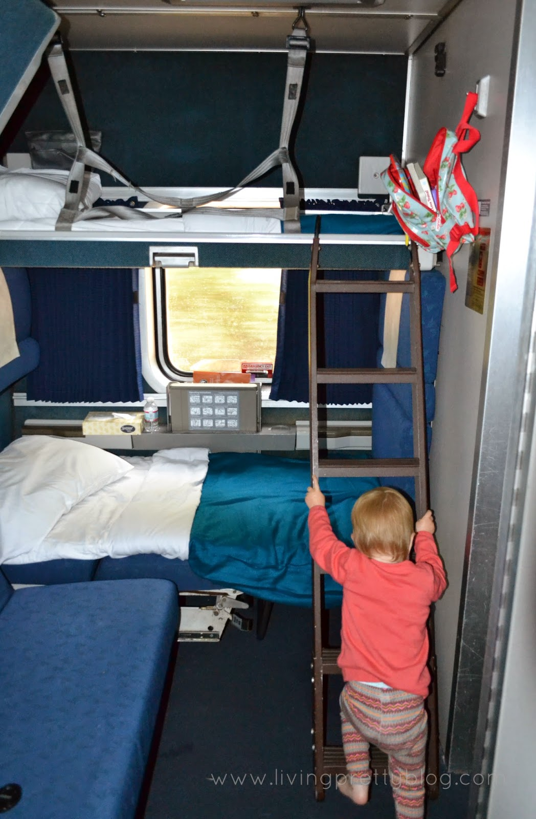 Amtrak Family Bedroom