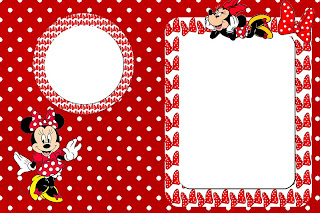 Minnie Mouse de rojo: invitaciones para imprimir gratis ...