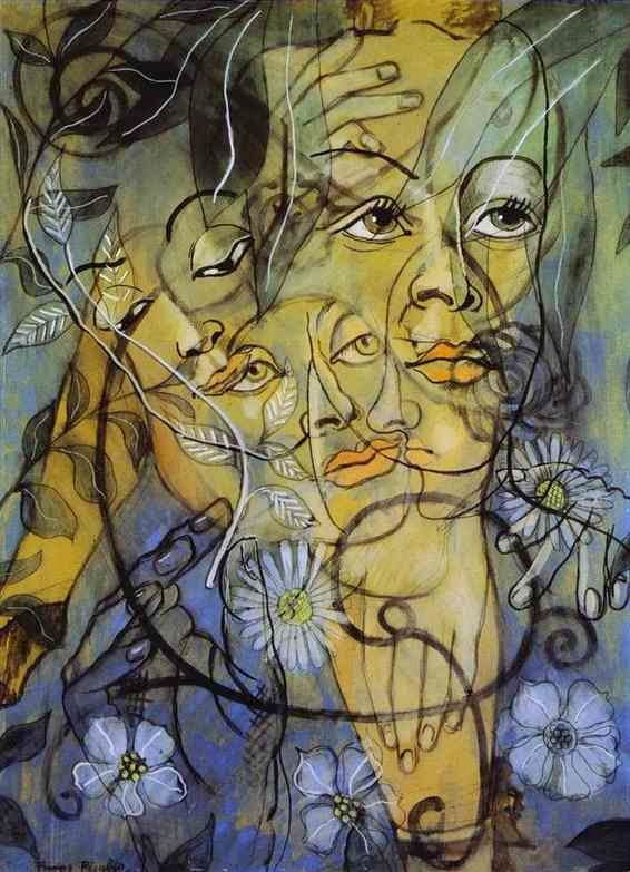 Frances Picabia's surreal painting Hera