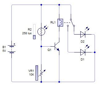 Rangkaian sensor cahaya sensor cahaya dengan ldr belajar teknik rangkaian ccuart Images
